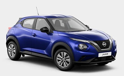Nissan Juke - Available In Ink Blue