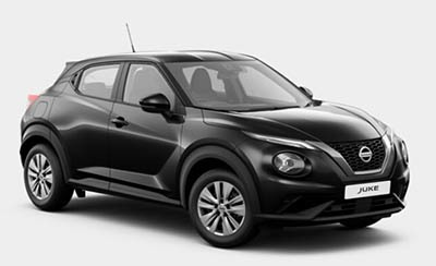 Nissan Juke - Available In Pearl Black