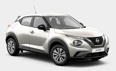 Nissan Juke - Available In Storm White