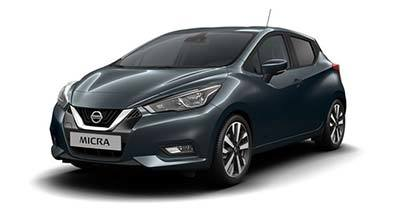 Nissan New Micra - Available In ECHO GREY