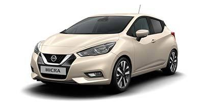Nissan New Micra - Available In IVORY