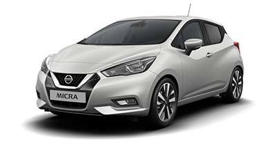 Nissan New Micra - Available In PLATINUM SILVER