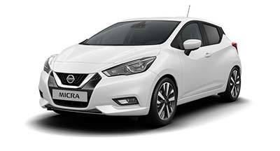 Nissan New Micra - Available In SOLID WHITE