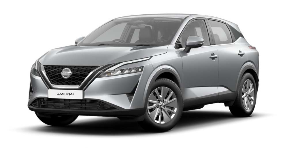 Nissan Qashqai - Available In Blade Silver