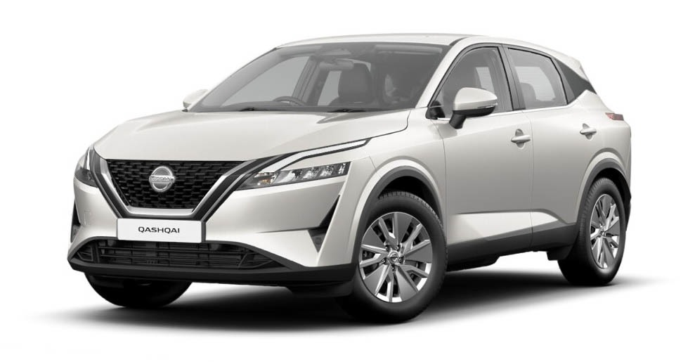 Nissan Qashqai - Available In Pearl White