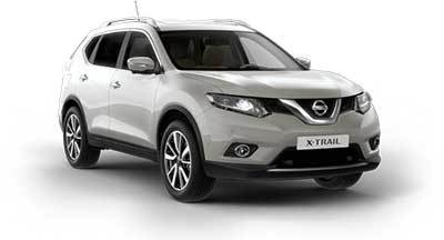 Nissan X Trail - Available In Blade Silver