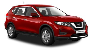 Nissan X Trail - Available In Chilli Pepper