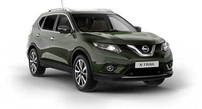 Nissan X Trail - Available In Dark Green