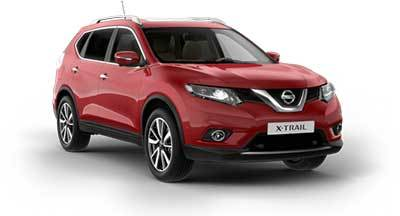 Nissan X Trail - Available In Magnetic Red