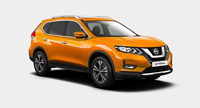 Nissan X Trail - Available In Monarch Orange