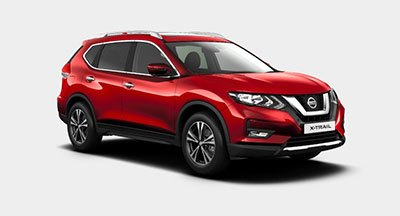 Nissan X Trail - Available In Palatial Ruby
