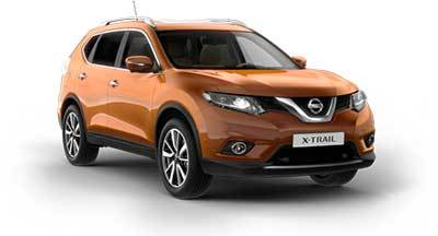 Nissan X Trail - Available In Suvannah Yellow